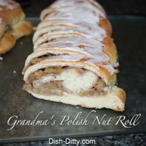 Polish Nut Rolls (aka Easter Nut Roll)