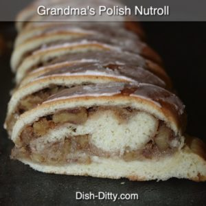Polish Nut Rolls (aka Easter Nut Roll)