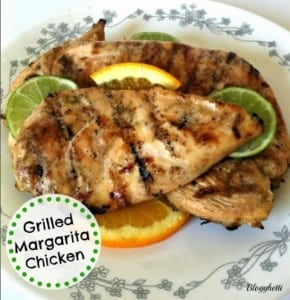 Blogghetti's Grilled Margarita Chicken