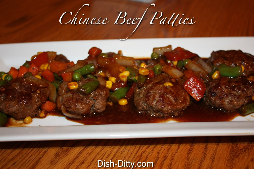 Chinese Beef Patties by Dish Ditty