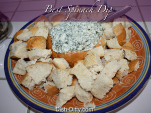 Best Spinach Dip by Dish Ditty