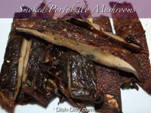 Smoked Portobello Mushrooms by Dish Ditty