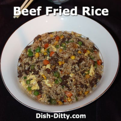 Chinese Beef Fried Rice Recipe – Dish Ditty Recipes