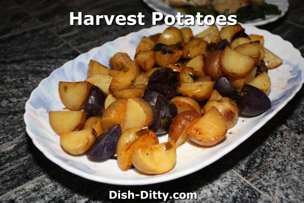 Harvest Roasted Potatoes by Dish Ditty