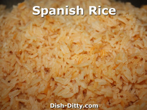 Spanish Rice by Dish Ditty