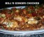 Bill's Ginger Chicken