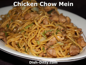 Chicken Chow Mein Recipe by Dish Ditty