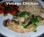 Vintage Chicken by Dish Ditty