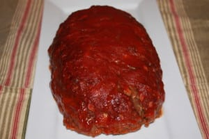 Meatloaf is done!