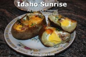 Idaho Sunrise as seen on Pinterest