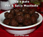 Joe's Balls: Hot & Spicy Meatballs by Dish Ditty