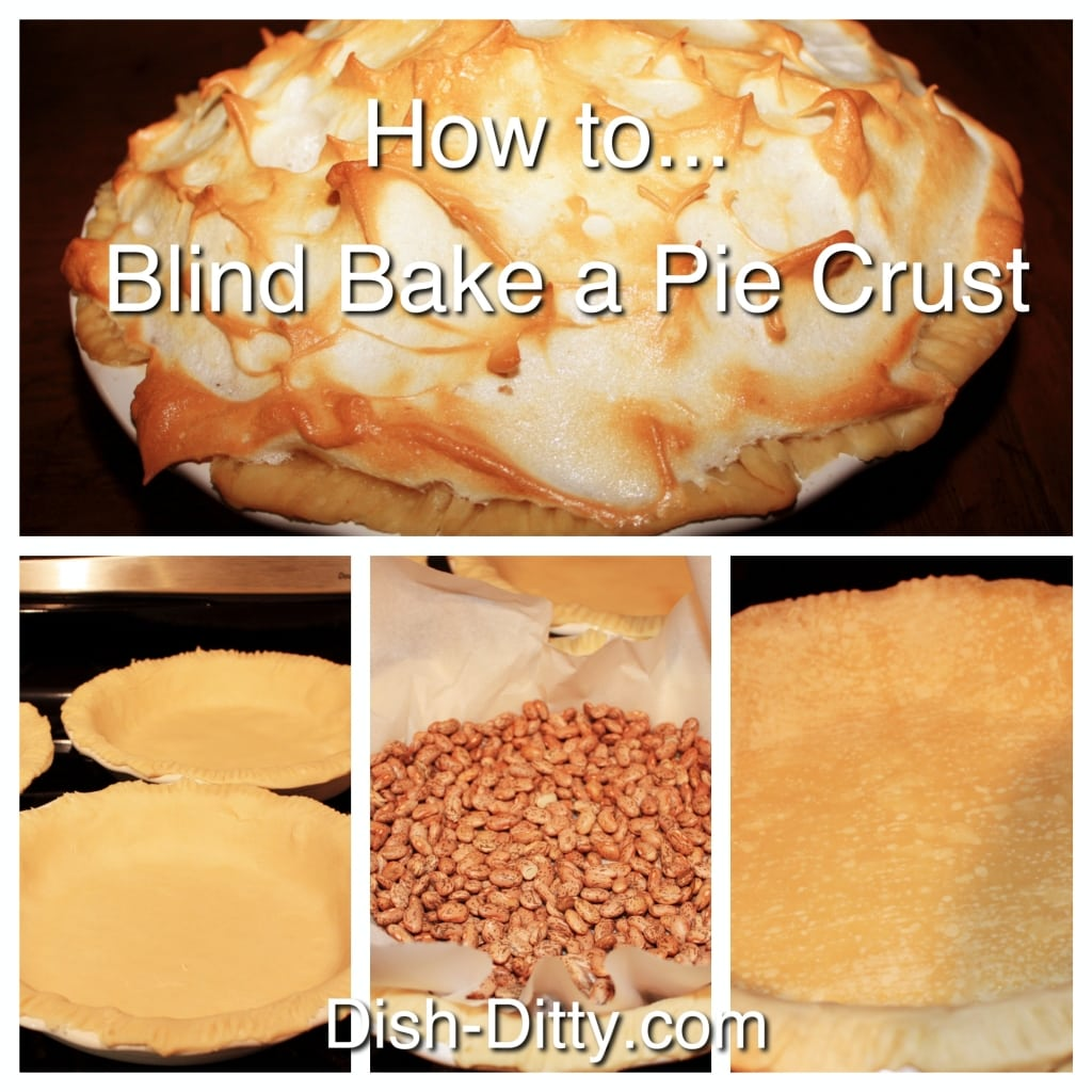 How to Blind Bake a Pie by Dish Ditty Recipes