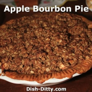 Apple Bourbon Pie