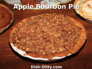 Apple Bourbon Pie
