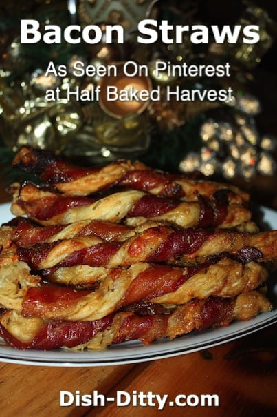 Bacon Straws at Dish Ditty Recipes