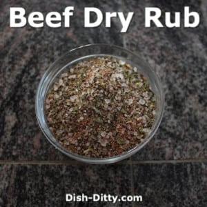 Beef Dry Rub