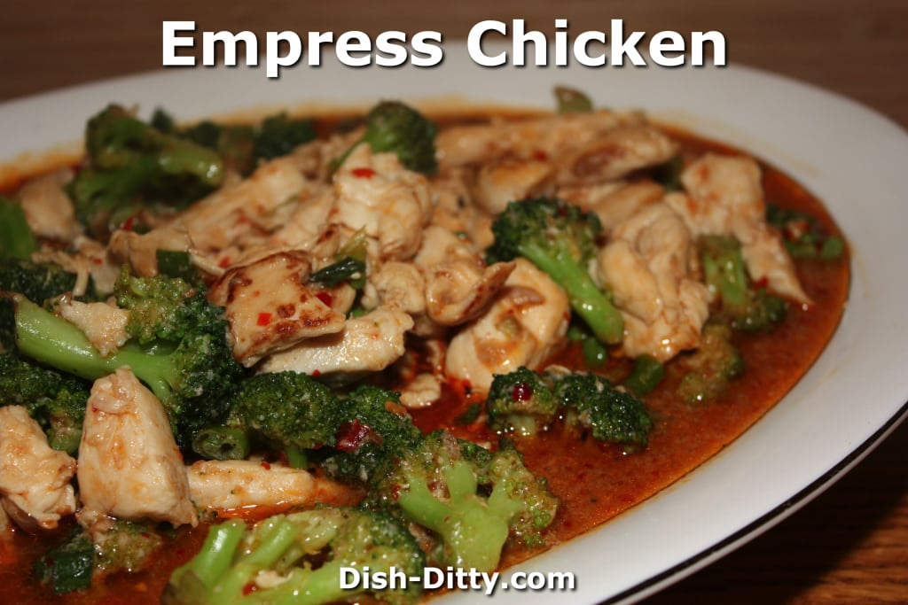 Empress Chicken & Broccoli by Dish Ditty Recipes