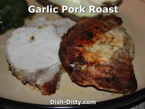 Garlic Pork Roast by Dish Ditty Recipes