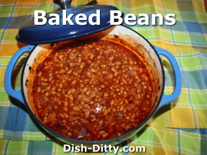 Baked Beans by Dish Ditty Recipes