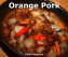 Chinese Orange Pork Stir Fry by Dish Ditty Recipes