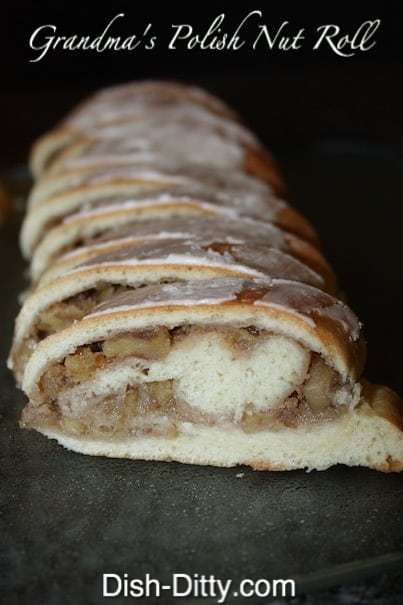 Grandma S Polish Nut Roll Recipe Easter Nut Roll Dish Ditty Recipes