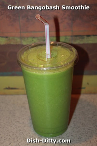 Green Bangobash Smoothie by Dish Ditty Recipes