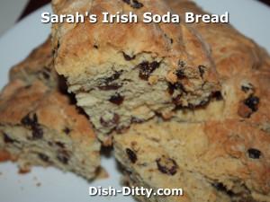 Sarah's Irish Soda Bread by Dish Ditty Recipes