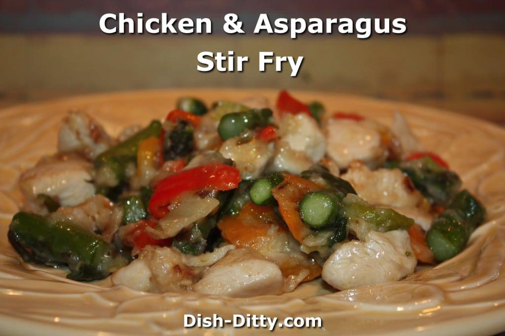 Chicken & Asparagus Stir Fry Recipe – Dish Ditty Recipes