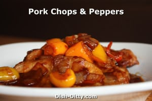 Pork Chops & Peppers Chinese Style Recipe