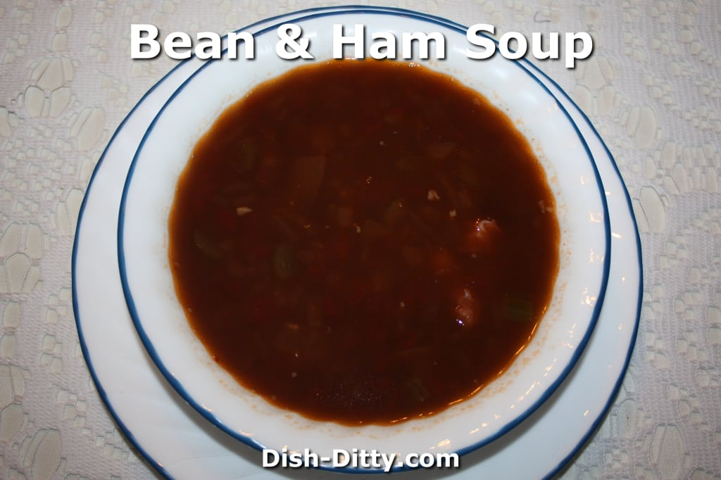 Bean & Ham Soup by Dish Ditty Recipes