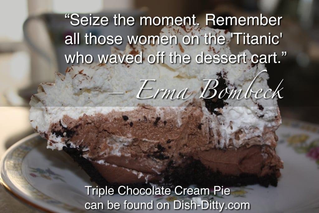 """""""Seize the moment..."""""""