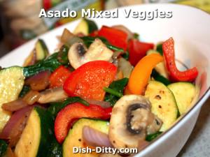 Asado Mixed Veggies by Dish Ditty Recipes