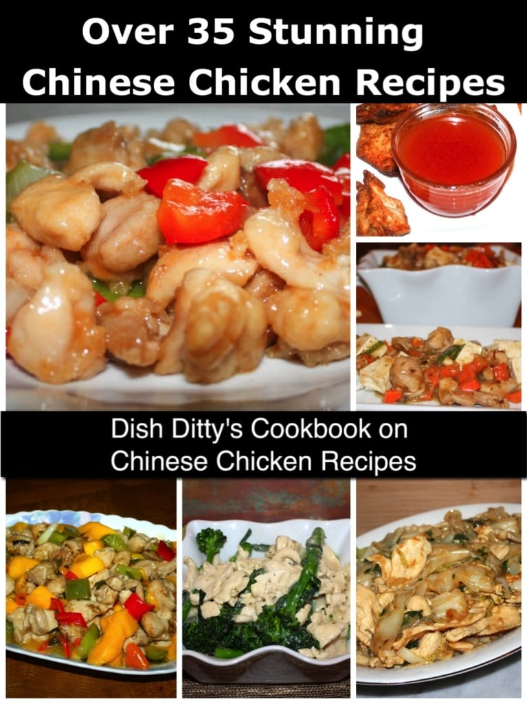 Dish Ditty's Chinese Chicken Recipes Cookbook