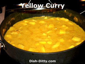 Yellow Curry Chicken by Dish Ditty Recipes
