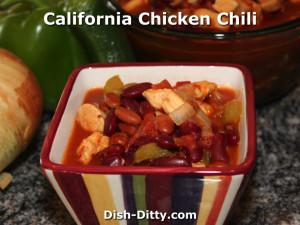 Judy's California Chicken Chili