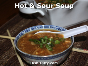 Hot & Sour Soup by Dish Ditty Recipes