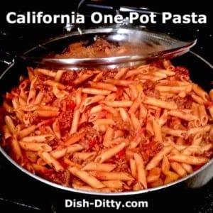 California One Pot Pasta