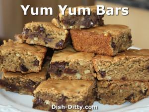 Yum Yum Bars by Dish Ditty Recipes