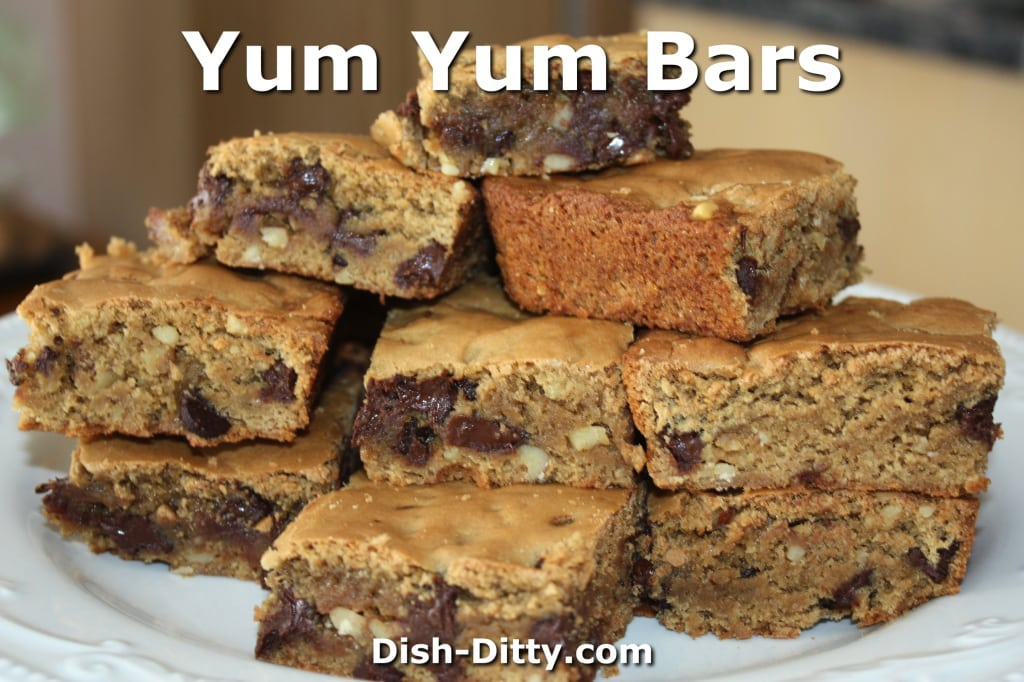 Yum Yum Bars by Dish Ditty Recipes