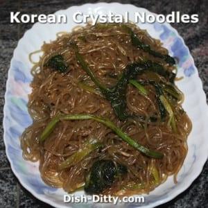 Korean Crystal Noodles