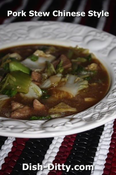 Pork Stew Chinese Style by Dish Ditty Recipes