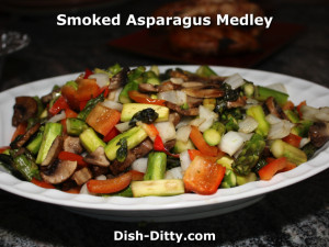 Smoked Asparagus Medley by Dish Ditty Recipes