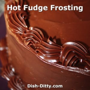 Hot Fudge Frosting