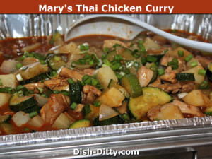 Mary's Thai Chicken Curry by Dish Ditty Recipes