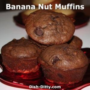 Banana Nut Bread/Muffins