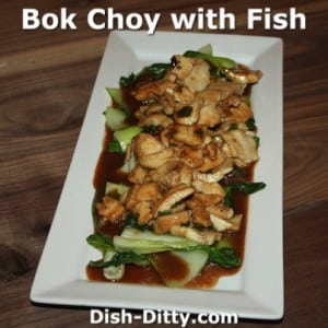 Bok Choy with Fish
