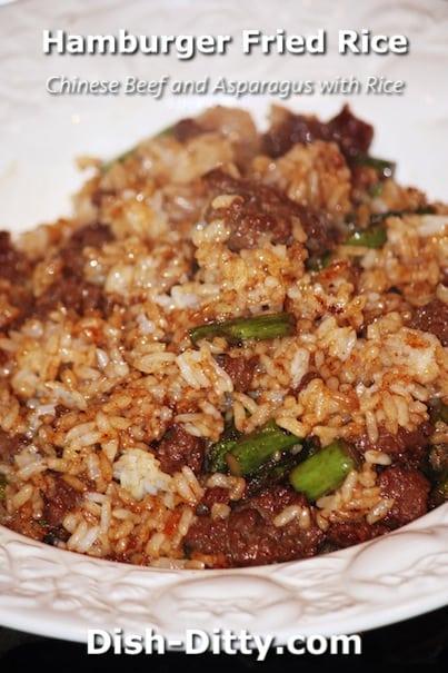 Hamburger Fried Rice by Dish Ditty Recipes