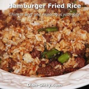 Hamburger Fried Rice