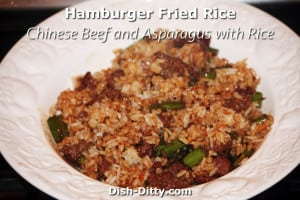 Hamburger Fried Rice by Dish Ditty Recipes
