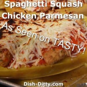 Spaghetti Squash Chicken Parmesan
